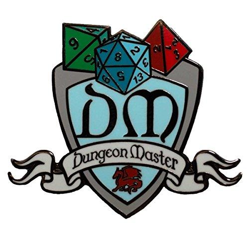 (Dark Spark Decals DM Dungeon Master Shield - 1.5