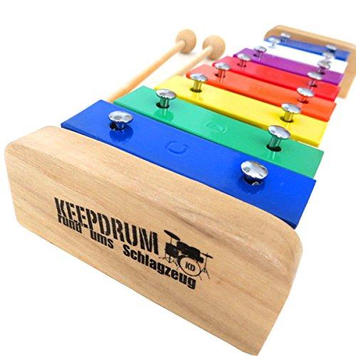 KEEPDRUM KGS1 Glockenspiel Xylophon für Kinder