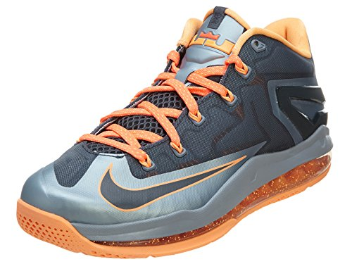 Nike Max Lebron Xi Faible Lt Mgnt Gry, Dk Mgnt Gry-mgnt G