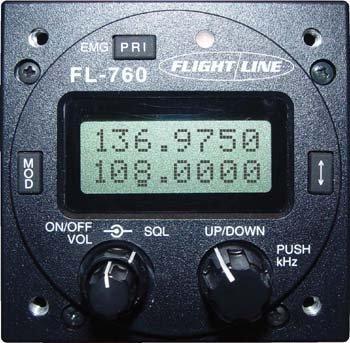 Flightline FL-760 VHF Com Transceiver