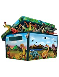 ZipBin 160 Dinosaur Collector Toy Box & Play set w/2 Dinosaurs BOBEBE Online Baby Store From New York to Miami and Los Angeles