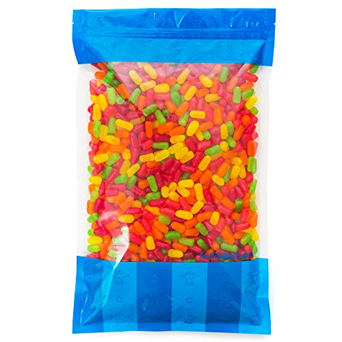 Bulk Mike & Ikes in an 8 lb Resealable Bomber Bag - Fresh, Tasty Treats - Great for Office Candy Bowls - Wholesale - Refill Candy Vending Machines - Holidays - Parties