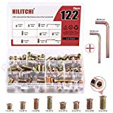 Hilitchi Threaded Inserts Nuts Zinc Plated
