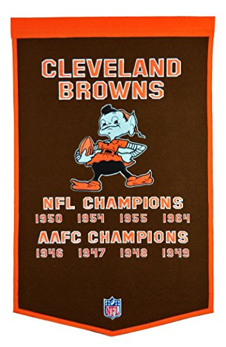 Nfl Pennant Wool - NFL Cleveland Browns Dynasty Banner