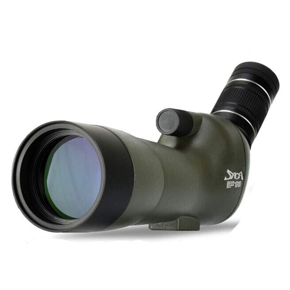 PIGE 20-60  60mm Spotting Scope avec trépied, 45 degrés Grand Angle oculaire, étanche Spotter Scope pour tir à la Cible Observation des Oiseaux tir à l'arc paysages Sauvages   5  Standard version+1.4M tripod