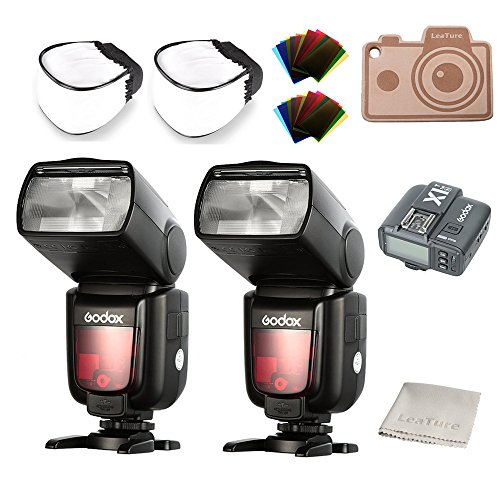 Godox Thinklite TTL HSS TT685N Camera Flash with X1T-N Transmitter High Speed 1/8000 GN60 for Nikon DSLR Cameras (2TT685N+X1T-N)