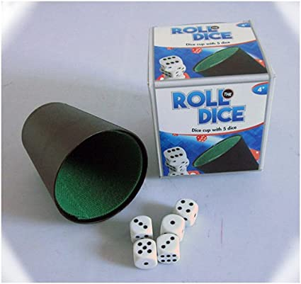 speelight goed 0601005/ /Cube Comprenant gobelets