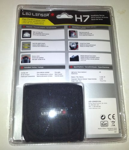 Led lenser headlamp h7
