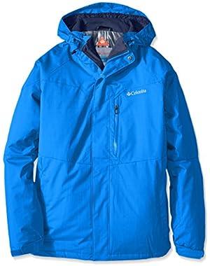 Columbia Men's Alpine Action Jacket, Super Blue, Large