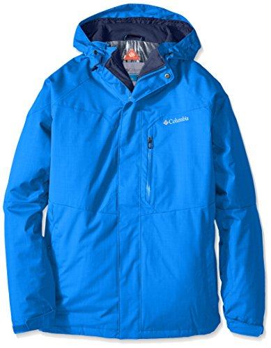 Columbia Men's Alpine Action Jacket, Super Blue, X-Large (Winter Pants Alpine)