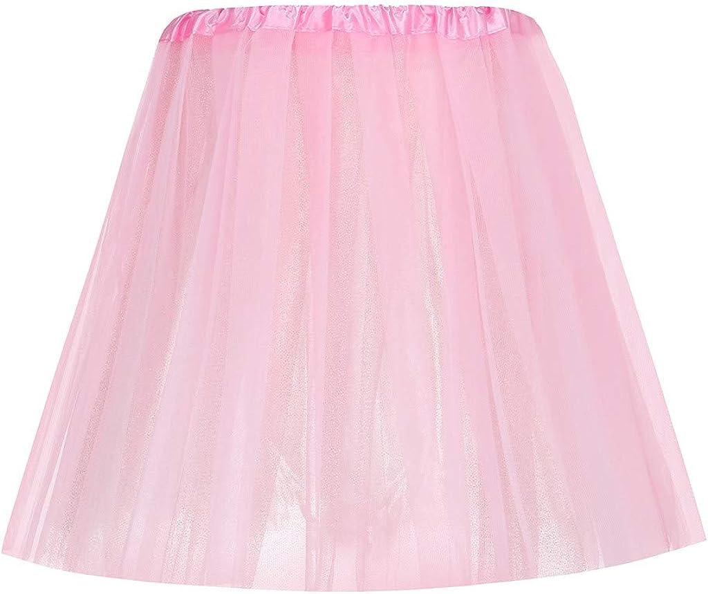 Andouy Tutu Skirt Womens Tutu Skirt and Girls Gold Ballet Skirt Womens Mini Skirt Dance