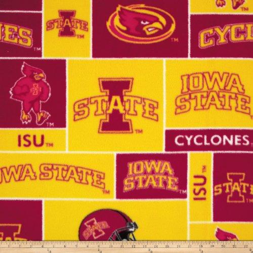 College Iowa State UniversityTM CyclonesTM Fleece Fabric Print By the ()