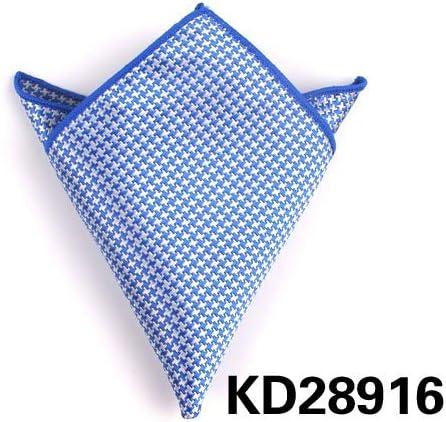 XMRB スーツのポケットスクエアメンズと女性のポルカドットバストスカーフスーツハンカチポケットスカーフ (色 : KD28913)