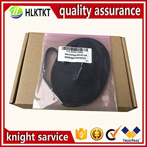 Yoton Q1253-60066 C6095-60183 Q1253-60021 carriage belt 60-inch for HP DesignJet 5000 5100 5500 like original by Yoton (Image #1)