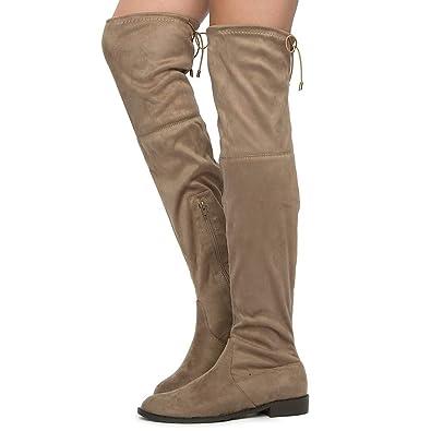 8601f51fcf7 Yoki Women s Anora Fashion Boot