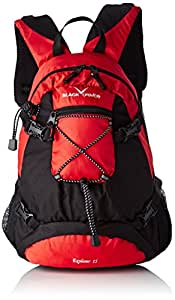 Black Crevice Mochila Explorer 15 Rojo