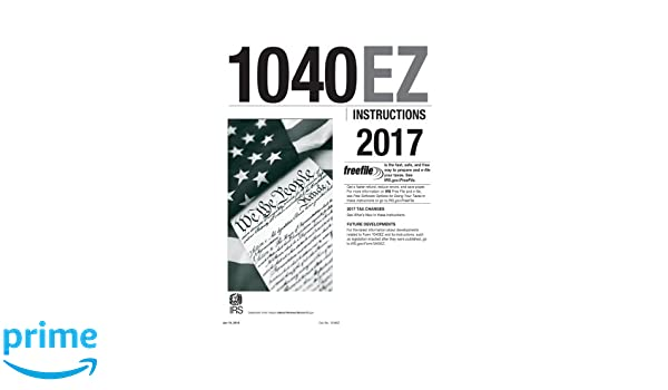 1040ez Instructions 2017 Internal Revenue Service Irs
