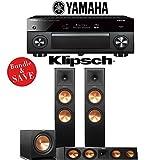 Yamaha AVENTAGE RX-A2070BL 9.2-Ch 4K Network AV Receiver + Klipsch RP-280F + Klipsch RP-450C + Klipsch R-112SW - 3.1-Ch Home Theater Package