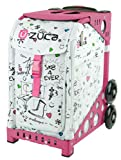 ZUCA Bag SK8 Insert & Pink Frame w/ Flashing Wheels