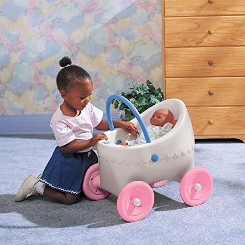 Amazon.com: Cochecito clásico para muñecas ...