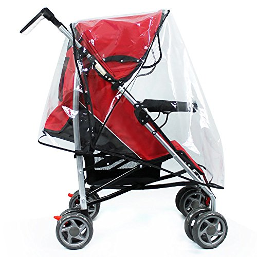 Hysagtek Universal Baby Stroller Raincover Pushchair Transpa