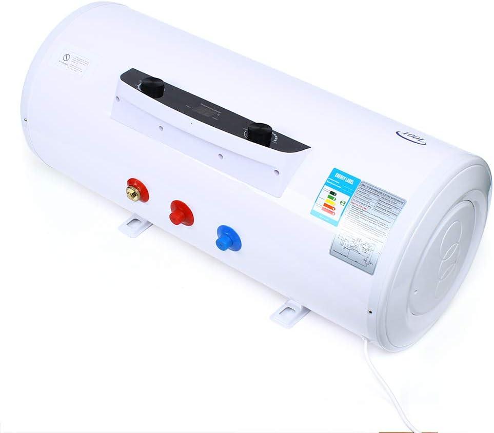 Wangkangyi NEU Elektro Warmwasserspeicher Boiler 50L 80L 100L 120L Elektrospeicher,Propane Durchlauferhitzer Warmwasserbereiter Wasserspeicher,IPX4 wasserdicht 100L