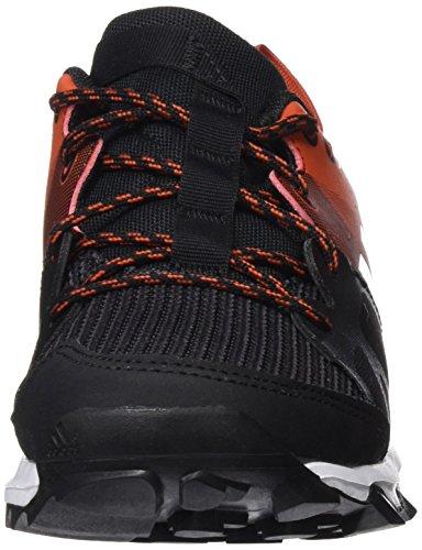 adidas Kanadia 8 K, Zapatillas de Running Para Niños Negro (Negbas / Ftwbla / Chiart)