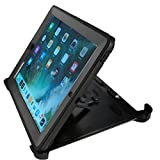 iPad Case Heavy Duty for iPad 2/3/4 by Gorilla Gadgets | Shockproof, Bumper, Hard Cover, Dual Layer, Full Body, Durable, Rugged iPad Case with Build in Screen Protector and Stand, 9.7 inch (Black)