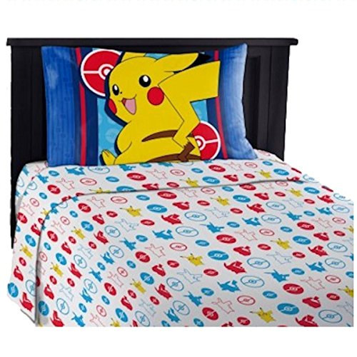 Pokemon Electric Ignite Childrens Sheet Set (Twin)