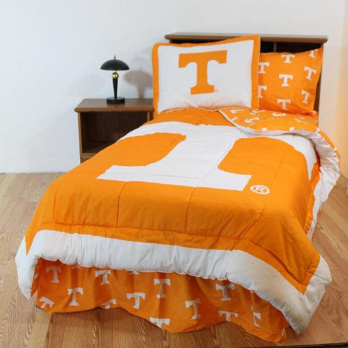 College Covers Tennessee Volunteers Bed in a Bag King - with Team Colored Sheets