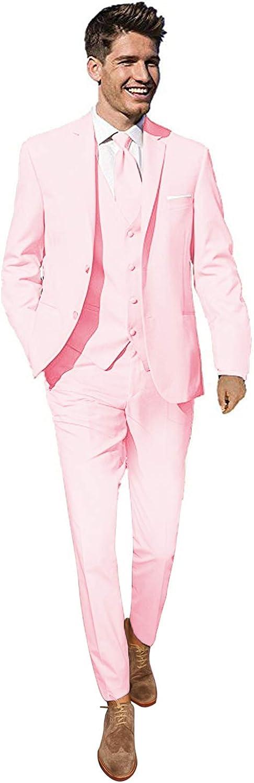 YYI Costumes de Mariage pour Hommes daffaires de 3 pi/èces pour Hommes Costumes Hommes mari/é smokings Formelles