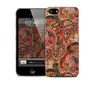 Autumn paisley pattern iPhone 5 / 5S protective case