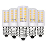 Albrillo E14 LED Bulb 3.5W, 40 Watt Equivalent, Small Edison Screw Energy Saving Light Bulb, 3000K Warm White, 5 Pack