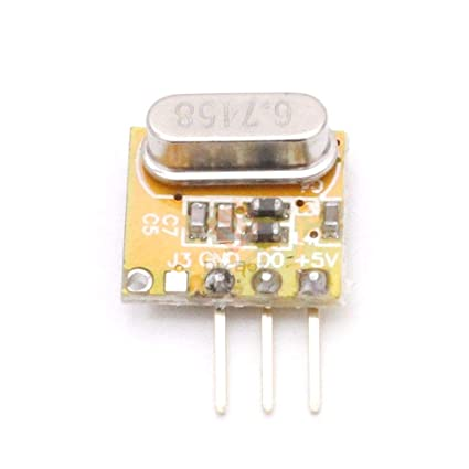 5PCS RXB14 433Mhz Superheterodyne Wireless Receiver 3.3V-5.5V for Arduino