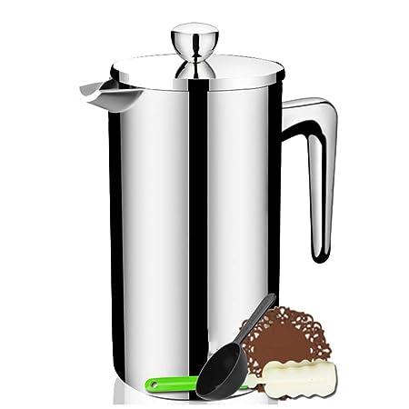 ZXYWW Cafetera, Máquina de café Espresso, Prensa Francesa ...