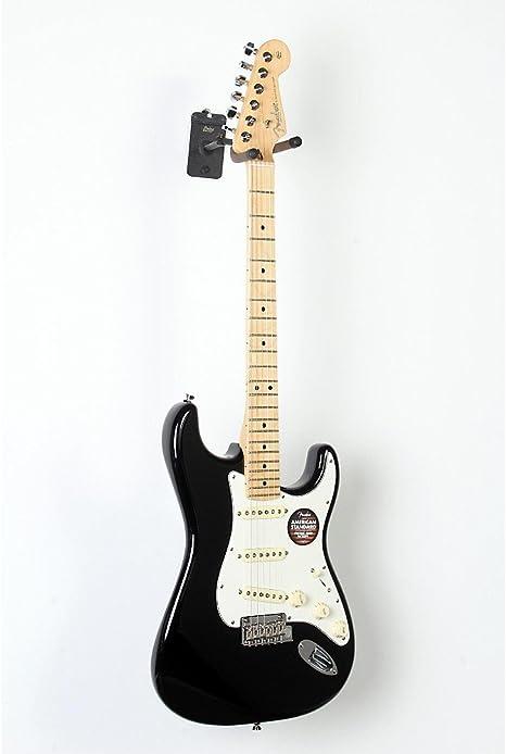 Guitarra eléctrica Fender Stratocaster American Standard Black ...