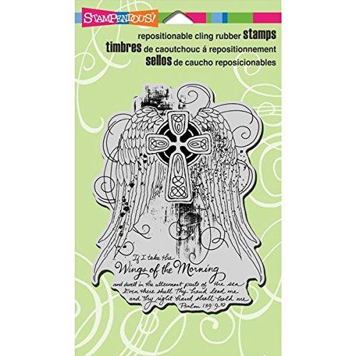 Unbekannt Stampendous selbst Gummi Stempel, 4 von 6, Wing Kreuz Kreuz Kreuz B00GXF41ME | Verbraucher zuerst  | Authentisch  | Schön In Der Farbe  68274a