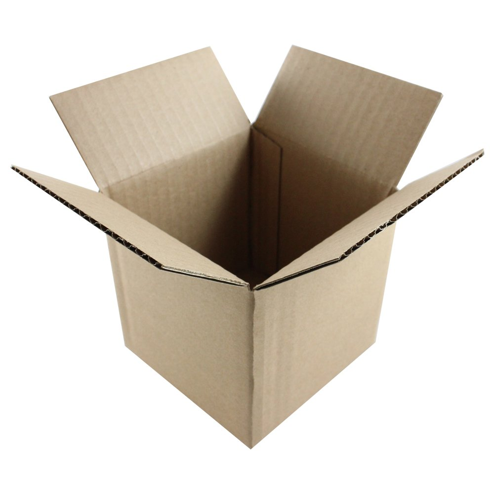 HGP 5'' x 5'' x 5'', 200 pack, Corrugated Cardboard Shipping Mailing Moving Boxes