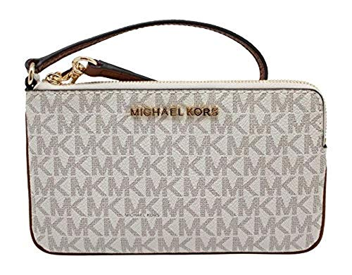 Michael-Kors-Jet-Set-Travel-Large-Top-Zip-Signature-PVC-Wristlet-Clutch