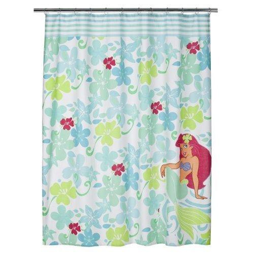 Bigkitchen Disney Ariel The Little Mermaid Fabric Shower Curtain Amazoncouk Kitchen Home