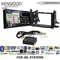 Volunteer Audio Kenwood Excelon DNX994S Double Din Radio Install Kit with GPS Navigation Apple CarPlay Android Auto Fits 2009-2015 Toyota Venza with Amplified System