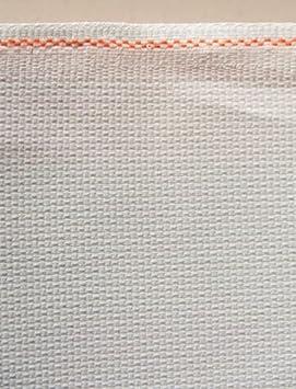 19 x 21 Inches Fat Quarter 50 x 55 centimetres Zweigart 14 Count White Aida Cross Stitch Fabric