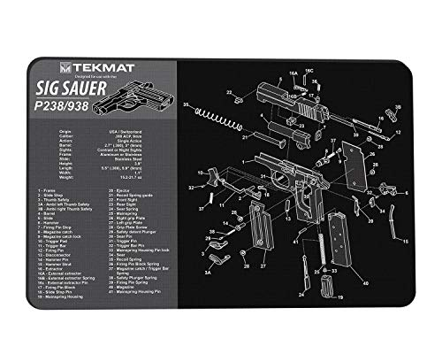 Used, TekMat for use with Sig Sauer P238 & P938 for sale  Delivered anywhere in USA