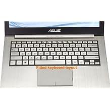 Folox® TPU Ultra Thin Laptop Keyboard Protector Cover Skin for ASUS Ultrabook Zenbook UX31 UX31A UX31E UX32 UX32A UX32VD UX42 U38 U38D U38N TX300CA UX301 Taichi 31,UX303,U303,TP300L U305F,T3 CHI