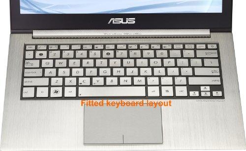 Asus Vista Laptops - Folox® TPU Ultra Thin Laptop Keyboard Protector Cover Skin for ASUS Ultrabook Zenbook UX31 UX31A UX31E UX32 UX32A UX32VD UX42 U38 U38D U38N TX300CA UX301 Taichi 31,UX303,U303,TP300L U305F,T3 CHI
