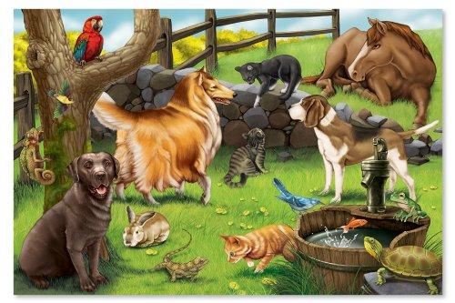 Melissa & Doug Pets Floor Puzzle - 24 ()