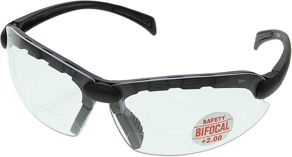 MAG-safe C-2000 Bifocal Safety Glasses 2.00 CC200