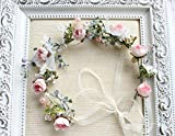 Handmade Adjustable Flower Wreath Headband Halo