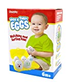 Hide N Tweet Eggs; Chirping Squeaky Eggs; Educational Toys, Learning Toys, Preschool Toys For Toddlers