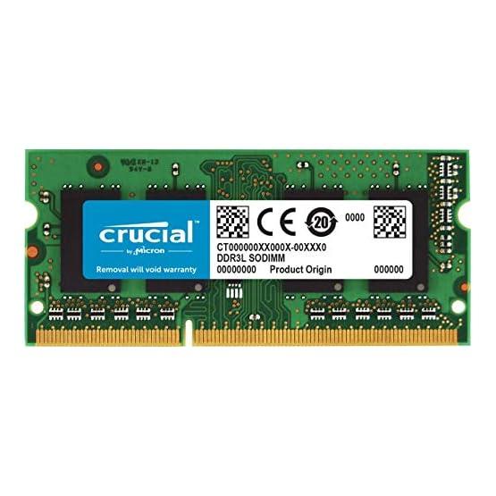 Crucial 4GB Single DDR3/DDR3L 1866 MT/s (PC3-14900) 204-Pin SODIMM RAM Upgrade for iMac (Retina 5K, 27-inch, Late 2015… 51bsMe6DXSL. SS555